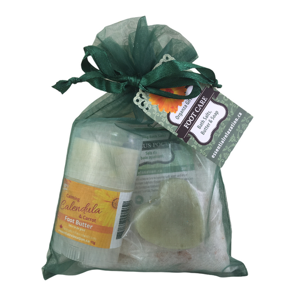Foot Care Organza Kit - Essential Relaxation