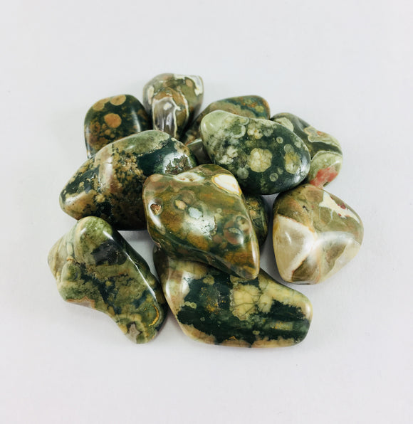 Crystal - Polished Rhyolite - Essential Relaxation