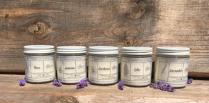 Soy Candle Collection - Essential Relaxation