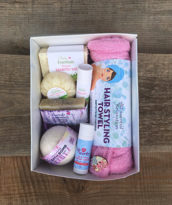 Home Spa Kit - Lavender Moments - Essential Relaxation