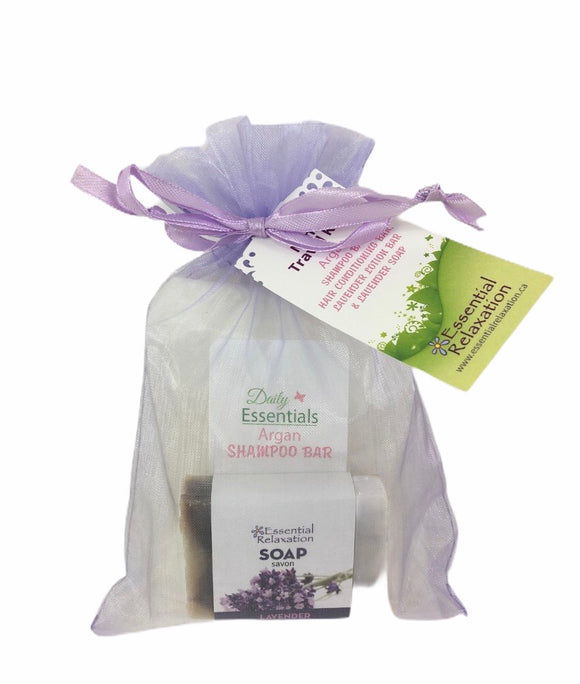Daily Essentials Mini Traveller Kit - Plastic Free - Essential Relaxation