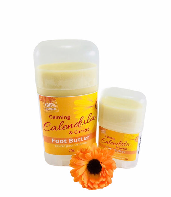 Calming Calendula & Carrot Foot Butter - Essential Relaxation