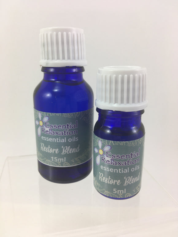 Pure Essential Oil Blend - Restore - Essential Relaxation