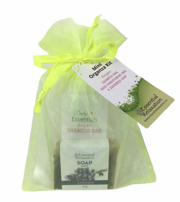 Daily Essentials Mini Organza Kit - Plastic Free - Essential Relaxation