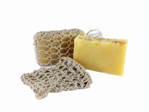 Hemp Soap Bag - Essential Relaxation