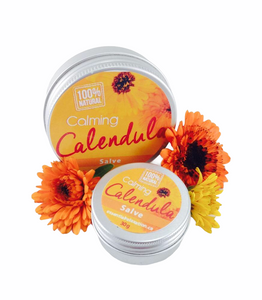 Calming Calendula Herbal Salve - Essential Relaxation