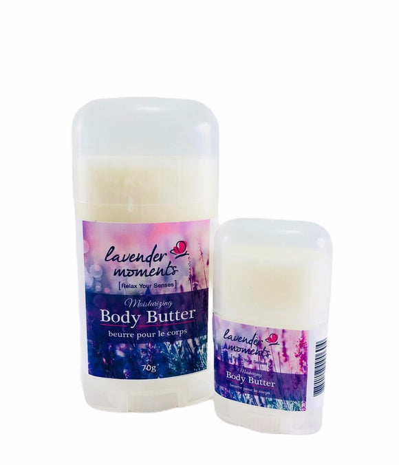 Lavender Moments Body Butter - Essential Relaxation