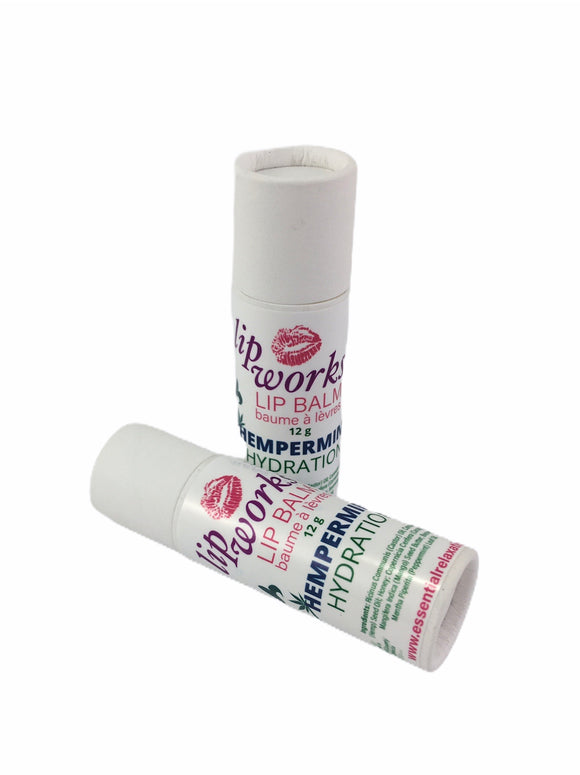 Lip Works - Hempermint Hydration Lip Balm - Essential Relaxation