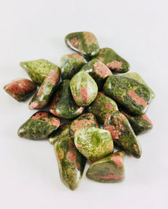 Unakite Crystal Polished