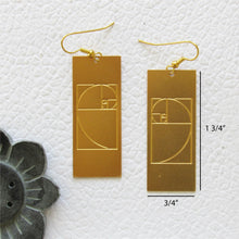 Load image into Gallery viewer, Golden Ratio | Math Jewelry by Rael Cohen