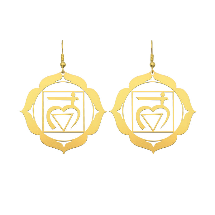 Root Chakra Earrings | Foundation and Security