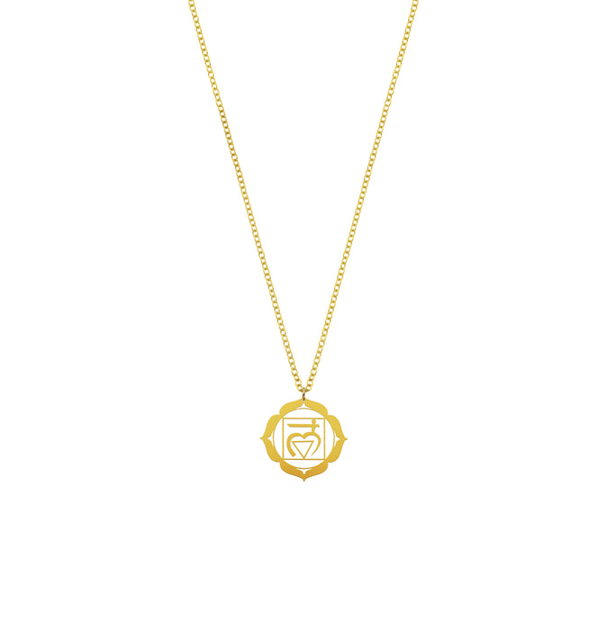 Root Chakra Coin Necklace | For Foundation and Security
