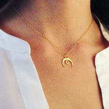 Load image into Gallery viewer, Sacral Chakra Moon Coin Necklace | Creativity and Sexuality