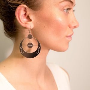 Scorpio Zodiac Sign Constellation Earrings | October 23rd - November 21st
