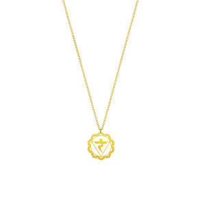 Solar Plexus Chakra Necklace | Will Power and Presence