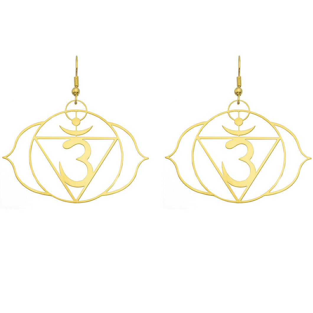 Third Eye Chakra Earrings | Intuition and Foresight