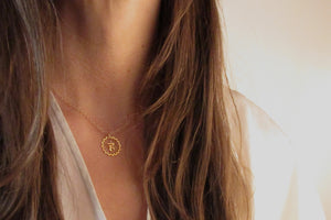 Throat Chakra Coin Necklace | Speech and Self Expression