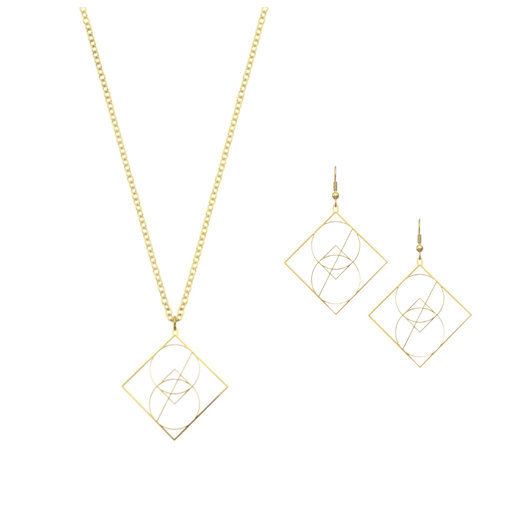 Geometry Inspired Jewelry by Rael Cohen