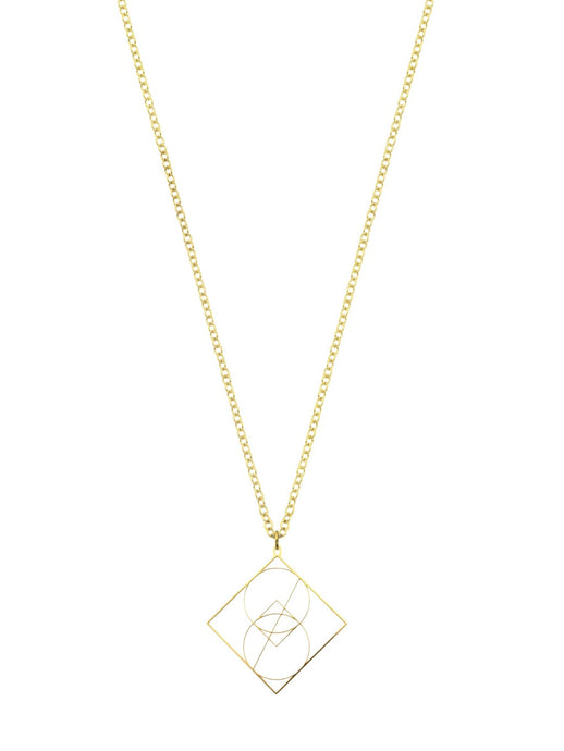 Vesica Piscis Sacred Geometry Necklace