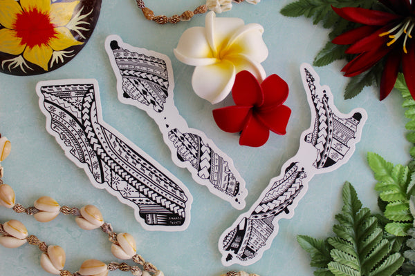 Tatau Stickers Combo Pack