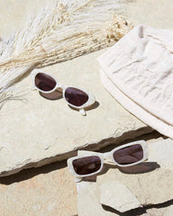 BAMBI WHITE SUNGLASSES