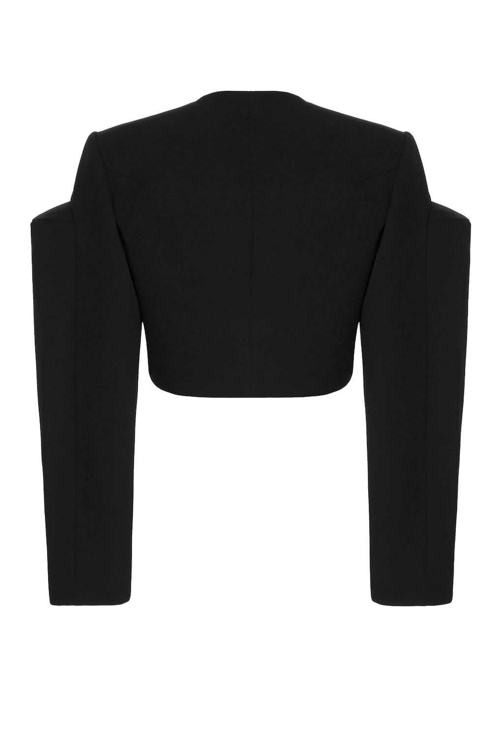 CROPPED ASYMMETRIC BLAZER