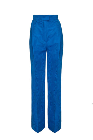 BLUE HIGH-WAISTED PANTS | Janashia | CULT MIA