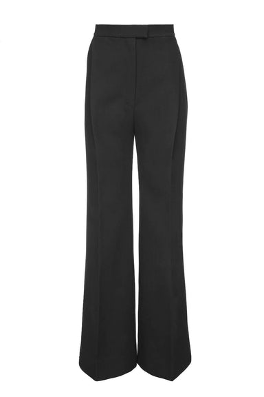 BLACK WIDE PANTS | Janashia | CULT MIA