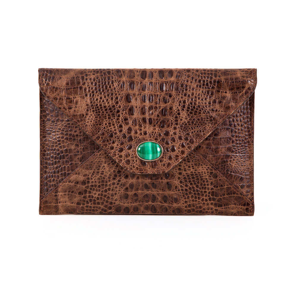 OUT OF AFRICA LEATHER ENVELOPE