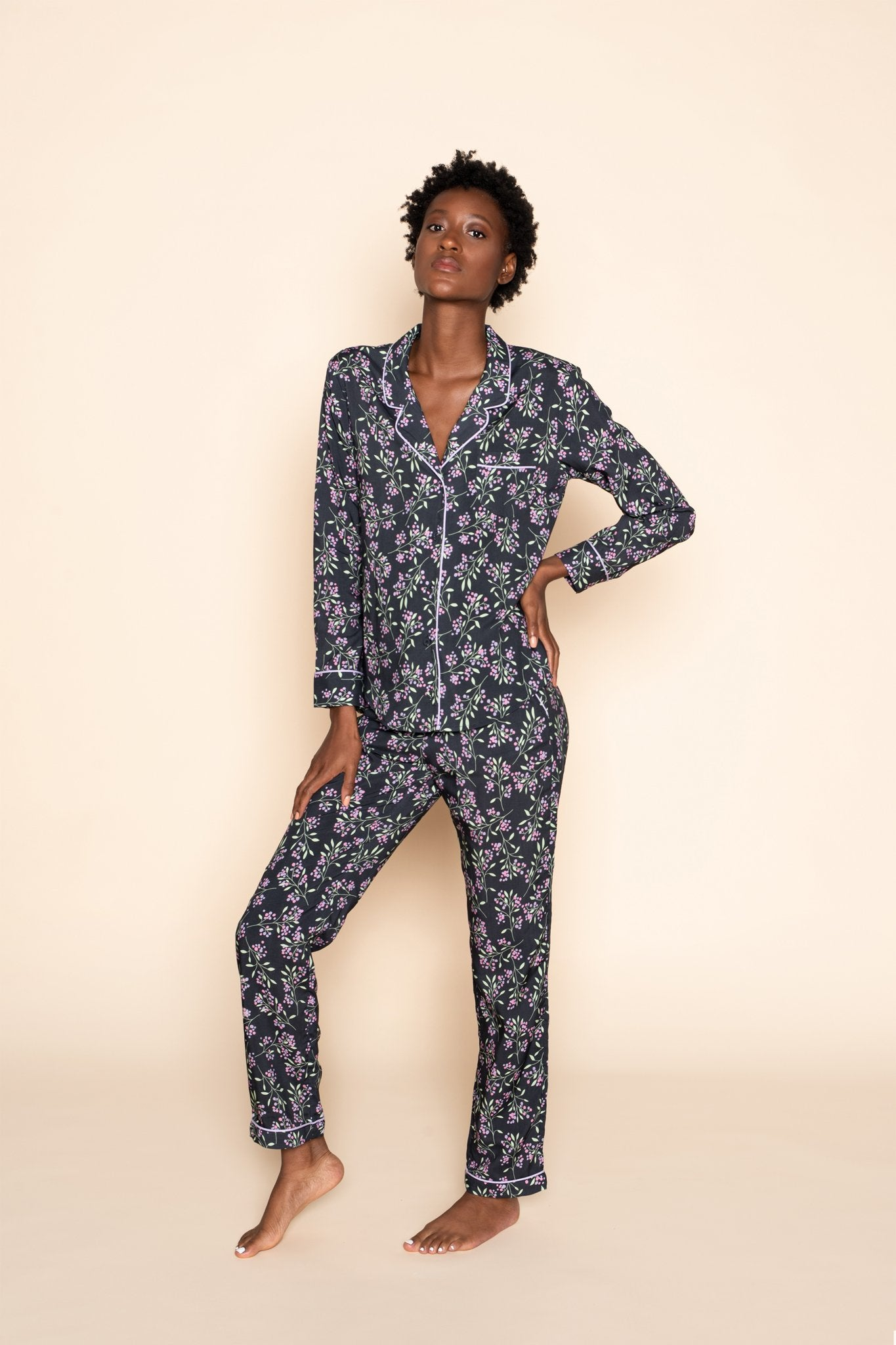 FUNKY FLOWERS PYJAMA SET