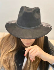 BLACK CHAAM HAT
