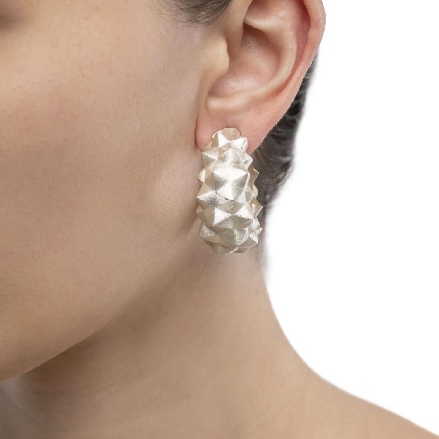 EDGY SILVER EARRINGS