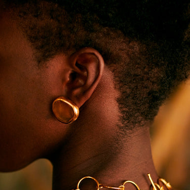 XERÓ GOLD-PLATED EARRINGS | Daniela Hoyos | CULT MIA