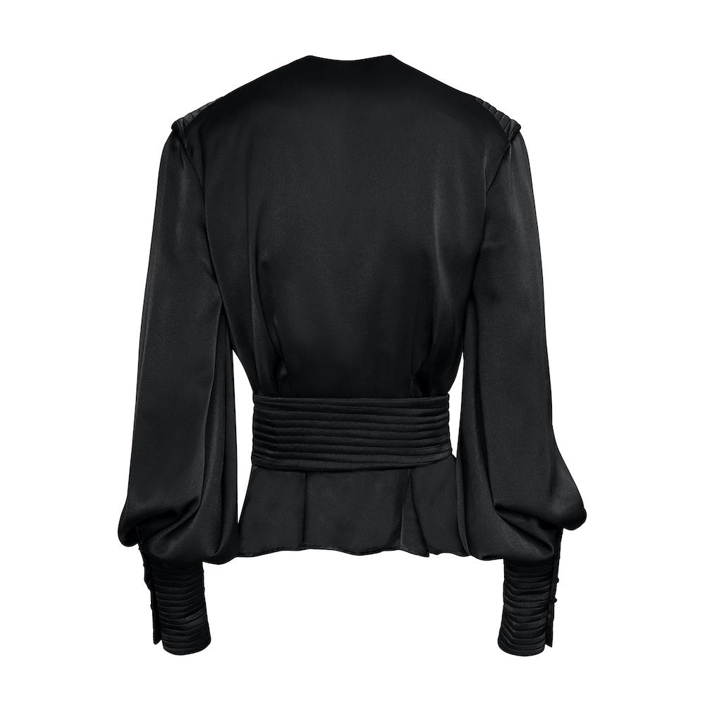 BLACK TINTO BLOUSE