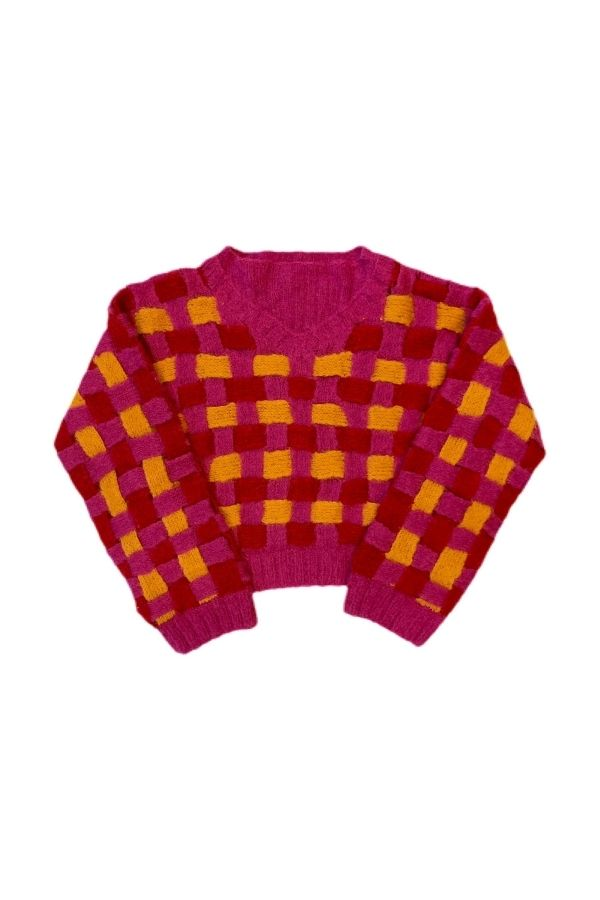 ENREDO BASKET ALPACA SWEATER