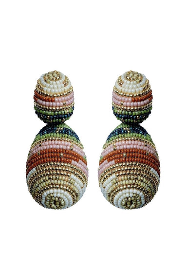 CHE CHE BEADED DROP EARRINGS | Susana Vega | CULT MIA