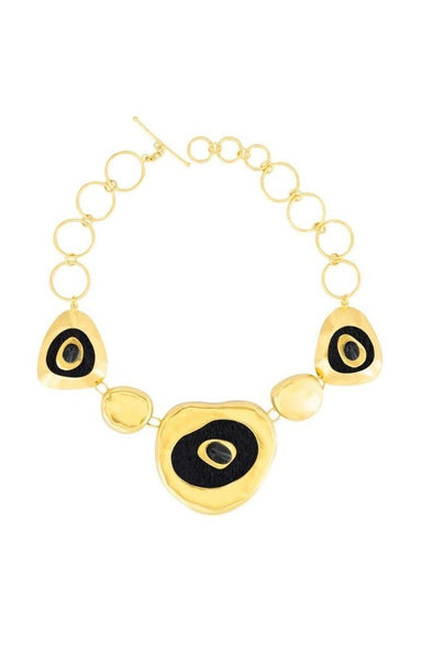 CALCALREA GOLD-PLATED NECKLACE | Daniela Hoyos | CULT MIA