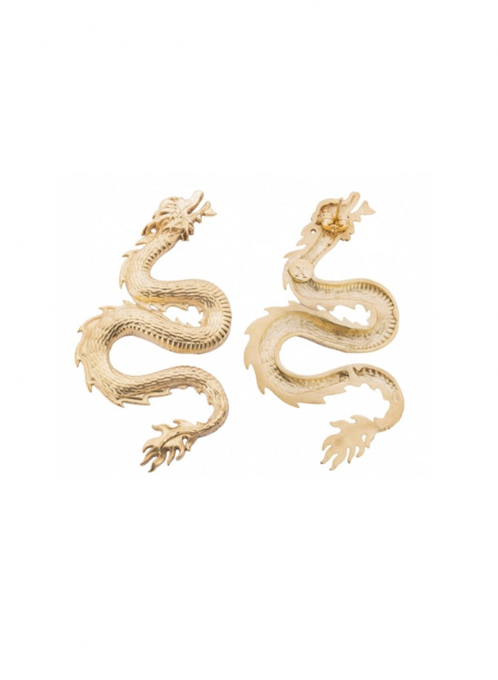 SMALL DRAGON EARRINGS