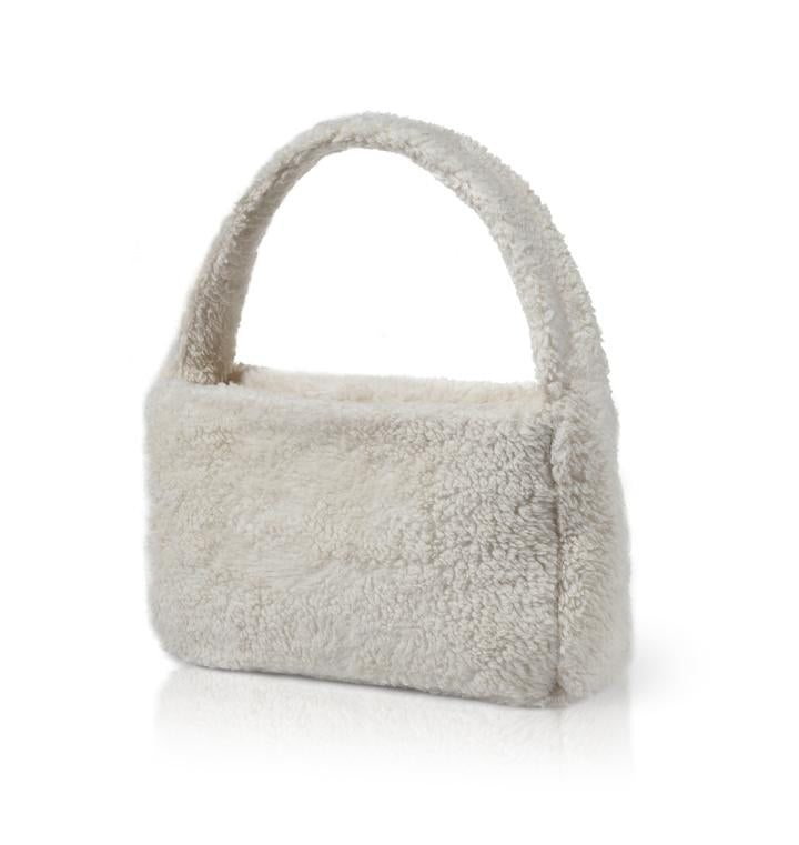 POPPY FAUX FUR HANDBAG