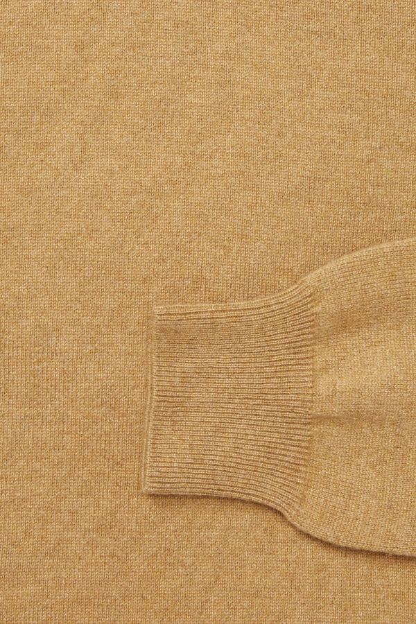CASHMERE ROLL NECK SWEATER