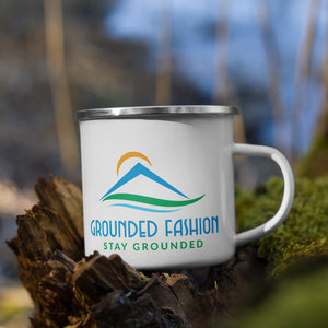 Grounded Fashion Enamel Mug