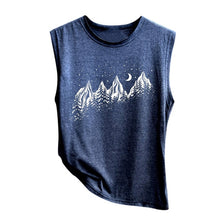 Load image into Gallery viewer, Mountain Print Casual Tank