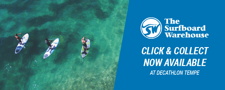 The Surfboard Warehouse mobile banner
