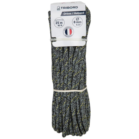 TRIBORD - Sailing Halyard Boat Rope (8mm x 25m)