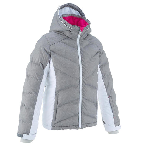 WEDZE - Ski-P 500 Kids Warm Padded Ski Jacket