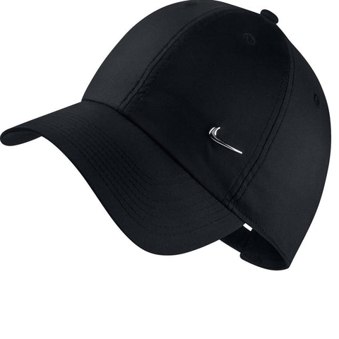 Nike Fitness Cap - Black with Metal Swoosh