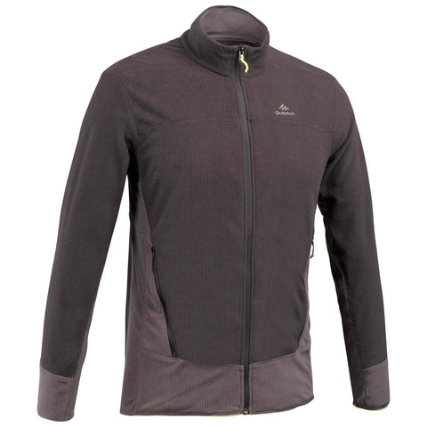 QUECHUA - MH 520 Men's  Full Zip Hiking Fleece