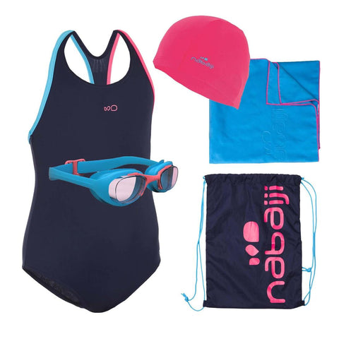 Leony+ Girl's Swimming Set