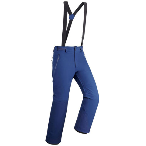 MEN'S DOWNHILL SKI TROUSERS 580 - NAVY BLUE