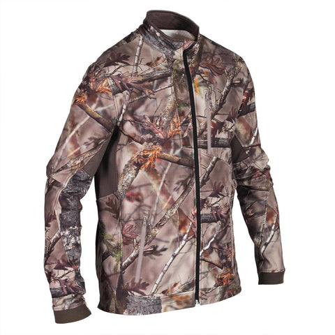SOLOGNAC - 500 Adult Warm Silent Hunting Jacket